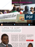 Alternative Perspectives Conference Report V4CE