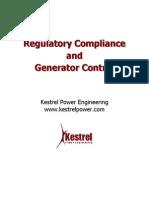 Regulatory Compliance and Generator Control