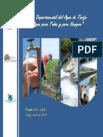 Plan Departamental Del Agua de Tarija 2103 - 2025