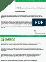 Software Rechnungsprogramm - Rechnungen für Kleinunternehmer:Rechnungen erstellen  mit  einem Klick