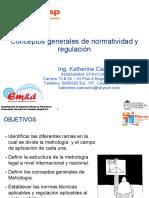 1. Conceptos Generales de Normatividad y Regulación