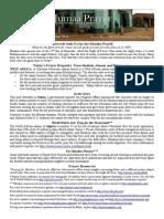 Jumaa Prayer Bulletin 18 July 2014