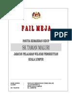 Fail Meja Ketua Panitia 2013