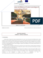 PLANO DE AVALIAÇÃO INDICADORES B.1 E B.3