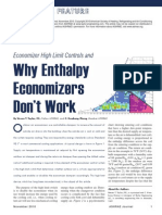 ASHRAE Economizer High Limit Devices and Why Enthalpy Economizers Dont Work