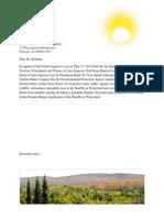 EPA Letter Campaign