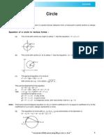 Circle Theory E
