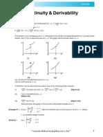Continuity & Derivability Theory_e