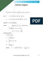 Definite Integration Theory_e