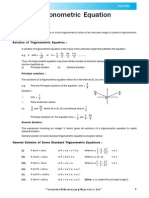 Trogonometric Equation Theory_e