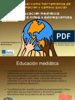 El audiovisual como herramienta para la transformación y cambio social. Taller Telekids Educación Mediática para niños y adolescentes