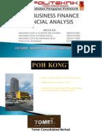 financial analysis presentation