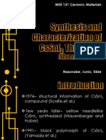 CsSnI3 Thin Films