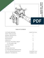 206B-FF Flange Facer Manual