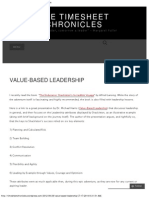 Michael Harris PhD, Value Based Leadership, the Timesheet Chronicles, Omar Halabieh