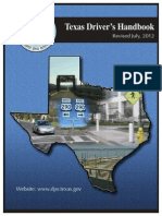 Texas Drivers Handbook