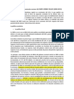 Politica Fiscal y Monetaria de Colombia