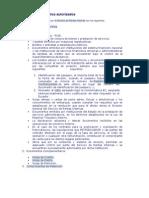 Tipos de Documentos Autorizados