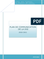 Plan de Communication 2010