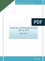 Plan de Communication 2010