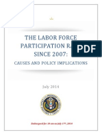 White House Labor Force Participation Report