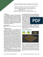 Microfluidic Tunable Metamaterial for Gigahertz Filter Array