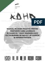 Manual ADHD Pentru Profesori