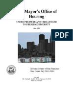 2014 CGJ Report Housing Under Pressure Challenged Preserve Diversity 7-7-14