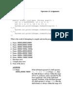 Operators & Assignments Question 1 Class EBH019 { Public Static
