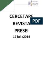 Cercetare 17.07.2014