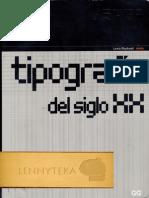 La Tipografía Del Siglo Xx. B.lewis