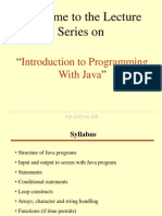 Java Lect 01