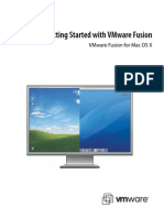 Vmware Fusion Installation