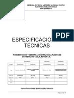 Especificaciones Pavimentacion MOD