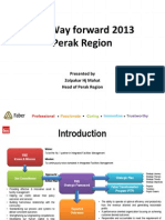 The Way Forward 2013
