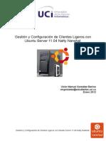 Gestion y Configuracion de Clientes Ligeros