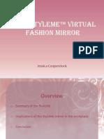 Cisco StyleMe™ Virtual Fashion Mirror