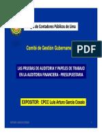 Pruebas Auditoria - PapelesTrabajo