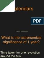 Calendars Clocks