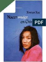 Nacer Mujer en China de Xinran Xue