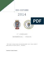 1º Simulado Efomm en 2014