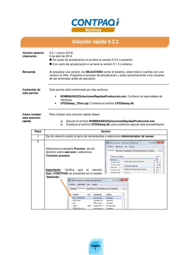 contpaq i nominas manual descargar