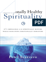 Emotionally Healthy Spirituality Sample