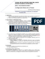 Lab10 - Configuracion Basica de Un Router