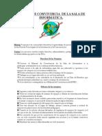 Manual de Convivencia Sala de Sistemas