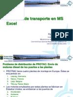 ICO 4.1 - Modelos de Transporte Con Excel