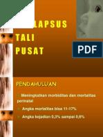 Prolaps Tali Pusat