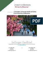 UMN-AVP-University Health and Safety