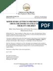 Miner Letter to POTUS n -- 7 17 14