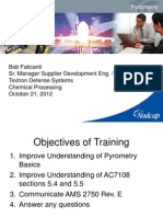 CP Training on Pyrometrics